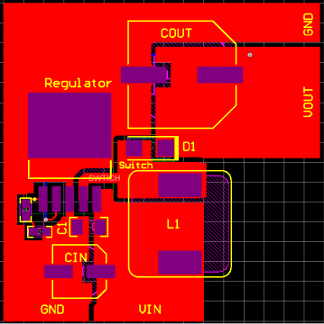 PCB layout in DC-DC converter topologies