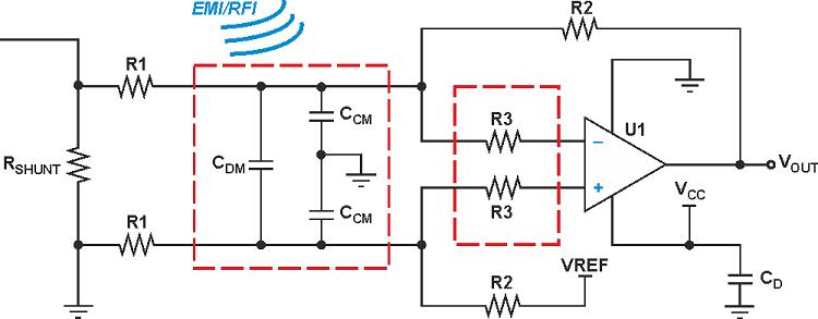 Active EMI filter circuit design