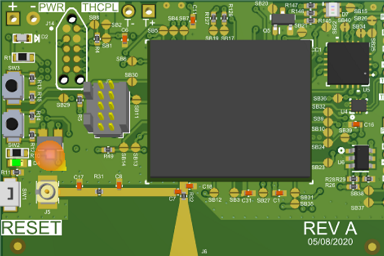 Impedance matching in a PCB