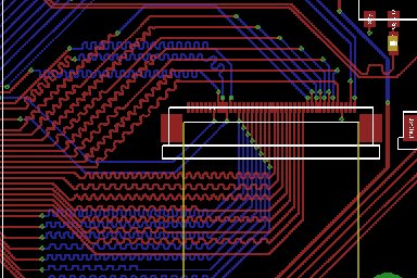 PCB trace length mismatch in a high speed PCB